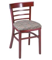 G & A Seating 1105PS - Economy Wood Ladderback Chair (12 per Case)