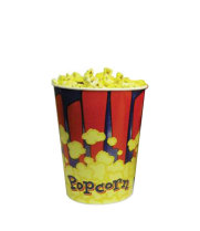 Benchmark USA 41446 - Popcorn Tubs - 46 oz Capacity - Case of 100