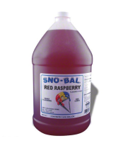 Benchmark USA 72007 - Red Raspberry Snow Cone Syrup - 1 Gal - Case of 4