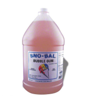 Benchmark USA 72008 - Bubble Gum Snow Cone Syrup - 1 Gal - Case of 4