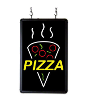 "Benchmark USA 92006 -  Ultra-Bright ""Pizza"" Sign"