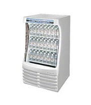 "Beverage Air BZ13-1-W - Open-Air Curtain Merchandiser ""The Breeze"" 30"""