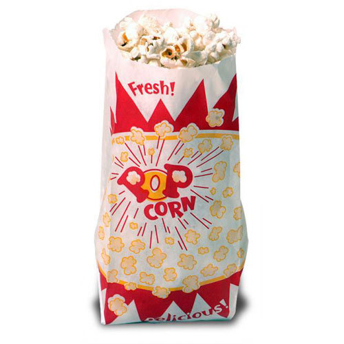 Benchmark USA 41002 - 2 oz Popcorn Bags - Case of 1000