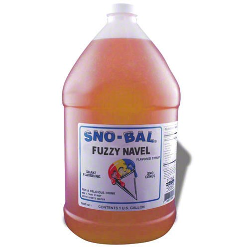 Benchmark USA 72012 - Fuzzy Navel Snow Cone Syrup