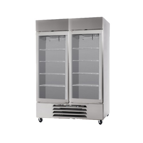 Beverage Air (Bev Air) HBF49-1-G-AVA - Two Section Glass Door Pharmacy Freezer - 49 Cu. Ft.