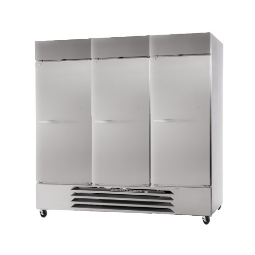 Beverage Air (Bev Air) HBF72-1-AVA - Three Section Solid Door Pharmacy Freezer - 72 Cu. Ft.