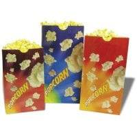 Benchmark USA 41230 - Popcorn Butter Bags - 130 oz Capacity - Case of 100