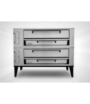 "Marsal & Sons SD-1048/SD-448 - 65"" Pizza Deck Oven - Double Deck"