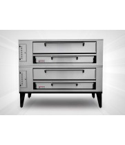 "Marsal & Sons SD-1060/SD-660 - 80"" Pizza Deck Oven - Double Deck"
