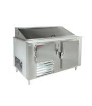 "Universal Coolers SC-60-BM - 60"" Refrigerated Sandwich Prep Table"