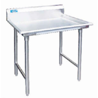 Universal BSR-84 - Stainless Steel Classification Table W/ Backsplash 84