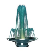 "Buffet Enhancements - 1BMF36COEM - 36"" Marquis™ Decorative Water Fountain - Color Orchestrated - Emerald"