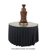 "Buffet Enhancements - 1BACFT48PJB - 48"" Chocolate Fountain Table - Laminate Finish - Java Bean"