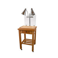 Buffet Enhancements - 010HCC - Maple Butcher Block Carving Station