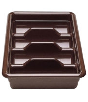 Cambro 1120CBP-131 - Four Compartment Cutlery Bus Box - Poly Cambox (12 per Case)