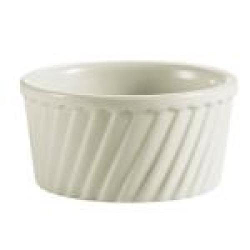 C.A.C. China RKF-6-S - RKF Souffle Bowl 3-1/2