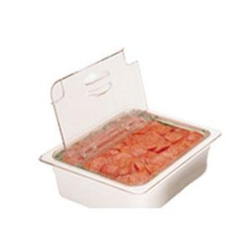 Cambro Camwear One-Third Size Food Pan Notched FlipLid (Set of 6) [30CWLN-135]