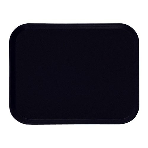 Cambro 37.5cm x 53cm Rectangular Black Metric Camtray (Set of 12) [3853-110]