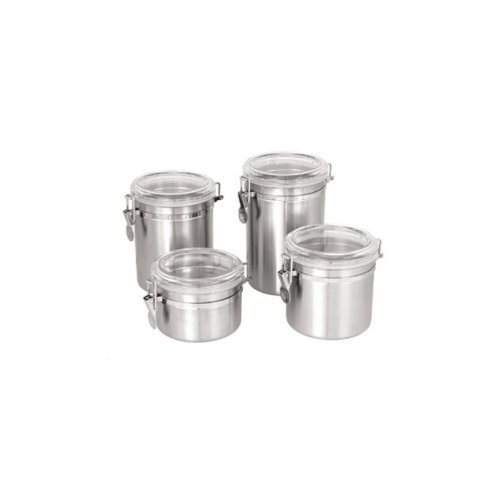 Update International CAN-5AC - Stainless Steel - Storage Canister - 4.88
