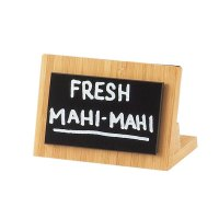 Universal 1103-23-60 - Cal Mil Bamboo Framed Write On Board - 3 1/2
