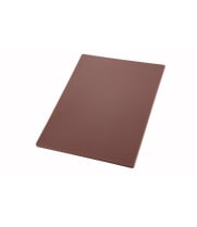 "Winco CBBN-1218 - 12"" x 18"" x 1/2"" Plastic Cutting Board"