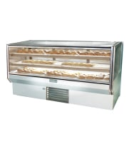 "Leader CBK77 - 77"" Refrigerated Bakery Display Case - Counter Height"