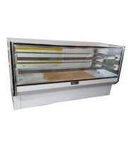 "Leader CBK77-D - 77"" Dry Bakery Display Case - Counter Height"