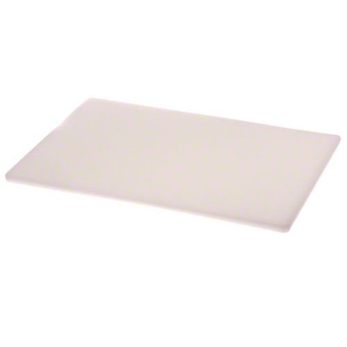 Update International CB-1218 - Rectangular Plastic - Cutting Board - 0.5