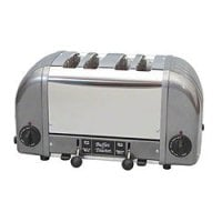 Cadco - CBF4M - Stainless Steel Buffet Toaster - 4 Slots