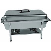 Update International CC-5P - Stainless Steel - Continental Chafer - 10.5