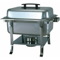 Update International CC-9P - Stainless Steel - Continental Chafer - 10.5