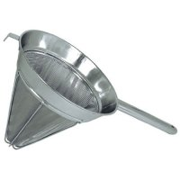 Update International CCB-10 - Extra Fine Stainless Steel - Bouillon Strainer - 18.75