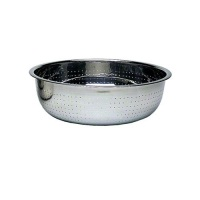 Update International CCOL-11S - 5.4 Qt - Stainless Steel Chinese Colander w/ 2mm Holes