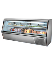 "Leader CDL96 - 96"" Single Duty Refrigerated Deli Display Case"