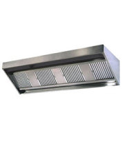 Universal LMUA-168-48D-24H - Low Profile Exhaust Hood w/ Make Up Air 168""