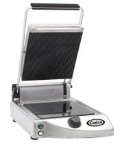 Cadco - CPG10 - Glass Ceramic Panini / Clamshell Grill - SIngle