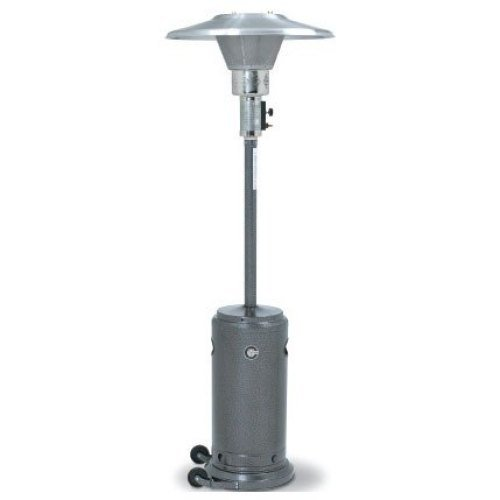 Universal CV2650-SV - Crown Verity Silver Portable Patio Heater - Propane