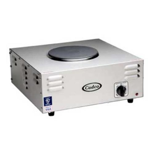Cadco - CSR1CH - Hi-Power Single Cast Iron Hot Plate - 7.125
