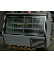 "Leader HDL72SS - 72"" Double Duty Refrigerated Deli Display Case - Self Service"