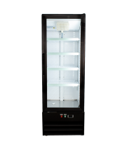 "Universal BDC10 21"" Glass Door Merchandiser Reach In Refrigerator"
