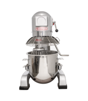 Universal B10J Planetary Stand 10 Qt. Commercial Mixer with Guard, Gear Driven - 110V, 3/4 hp