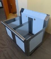 Scratch & Dent - Universal BS1512-2 - Two Compartment Sink - 24""