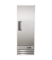 "Universal SDC10 21"" Stainless Steel Swing Solid Door Reach In Refrigerator"
