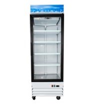 "Universal G648BMF 28"" One Glass Door Reach In Refrigerator Merchandiser"