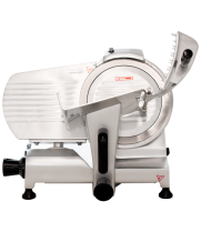 "Universal HBS-250 10"" Manual Gravity Feed Meat Slicer - 1/4 hp"