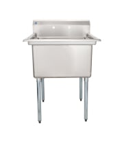 "Universal LJ2424-1 - 30"" One Compartment Sink - NSF Certified"