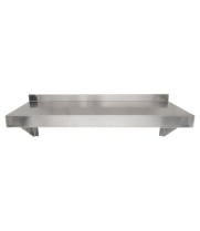 "Universal 16 Gauge Stainless Steel 12"" x 24"" Wall Shelf"