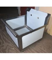 Scratch & Dent - Universal BS2124-1 - One Compartment Sink - 24""