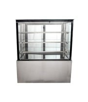 "Universal UHBDC48 48"" Refrigerated Bakery Display Case - High Exposure"