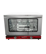 Avantco CO-16 Small Countertop Convection Oven, 1.5 Cu. Ft. - 120V, 1600W